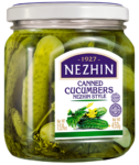 CANNED CUCUMBERS NEZHIN STYLE