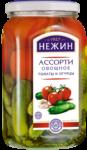 АССОРТИ овощное по-нежински № 1 из томатов и огурцов