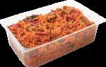 Салат из баклажанов, перца и моркови по-корейски весовой