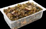 Салат из морской капусты и баклажан весовой