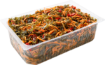 Laminaria and sweet pepper salad (weight)