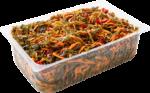 Салат из морской капусты и перца весовой