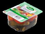 Асорті овочеве з томатів та огірків